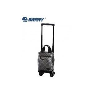 SWANY スワニー ウォーキングバッグ D-233 タルタン シルバーチェック TS15 5L・23304|choiceippinkanselect