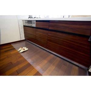 Achillesアキレス透明キッチンフロアマット 1mm・80×270cm|choiceippinkanselect