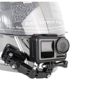 バイクのヘルメットにGoProやDJI Osmo Action等のアクションカメラを取り付けるアクセ...