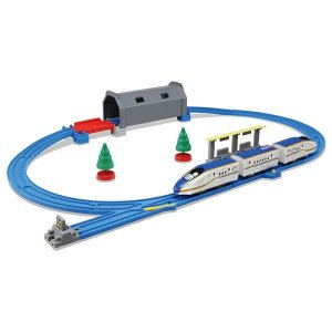 タカラトミー プラレール トンネルを照らそう! ライト付E7系新幹線 かがやきベーシックセット|chokkoubin