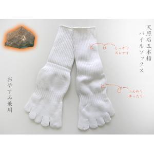 天照石五本指パイルソックス【あったかい】【靴下】【hp20150818-4 】|chokucobin