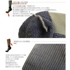 (登山ソックス)ガッツマンパイルレンジャーソックス(登山)(ウォーキング)(100km行軍)|chokucobin|05