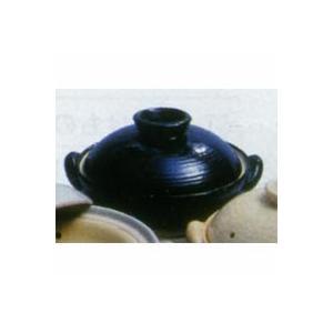 ★「ヘルシー蒸し鍋」 黒 中サイズ(2〜3人用)長谷製陶★現在、お届けに「2ヶ月」ほどお時間をいただいております|chokuhan