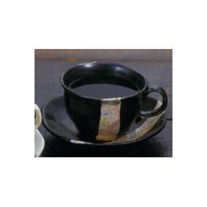 和ちりめん 珈琲碗皿 黒|chokuhan