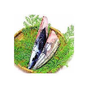 鰹(かつお)ロイン 刺身用の節(背と腹のセット) 約600グラム 業務用|chokuhan