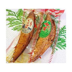 【内容】鰹の生節(なまぶし)(味付き) 「しょうゆ味」「柚子味」の2本セットです。 【内容量】各約1...