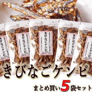 きびなごケンピ 5袋セット 高知県大月町産 100g×5袋  「きびなご」の田作り(ごまめ)