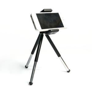 ■携帯電話、スマホ、iPhoneを三脚に固定して撮影できる三脚グリップです。 ■一脚、三脚スタンドに...
