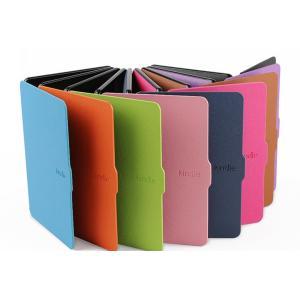 kindle Paperwhite1/2/3兼用手帳型レザーケース/電子書用カバー/Kindle P...