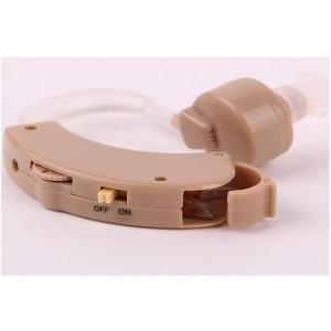 補聴器タイプ 左右兼用で使いやすくよく聞こえる/耳かけ式集音...