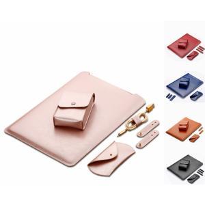 ●電源バッグ+マウスバッグ+ケーブル巻き取りペルト+本体用レザーバッグ(四つセット)  ●高級のPU...
