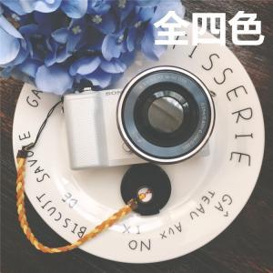 Sony/Canon/Nikon/Panasonicミラーレス 一眼レフカメラ用レンズキャップ紛失防止!カメラキャップストラップ/ホルダー/落下防止レンズアクセサリ|chokuten-shop