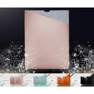 Apple MacBook Retina 12インチ/Macbook Air 11インチ用レザーポー...