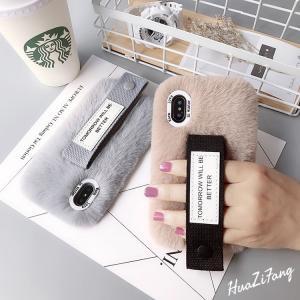 2018最新!iPhone XS Max/iPhone XR/iPhone X/iPhone XS用背面もこもこiPhoneケース ファッション 暖かい ふわふわ肌触りスマホケース プレゼント ギフト|chokuten-shop