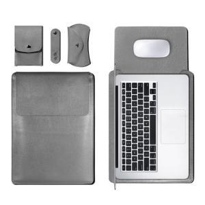 ●電源バッグ+マウスバッグ+ケーブル巻き取りペルト+本体用レザーバッグ(四つセット) ●高級のPU素...