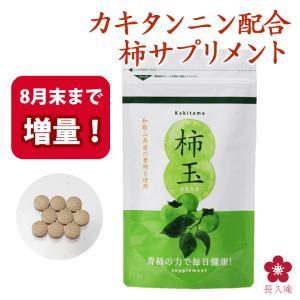 柿タンニン カキタンニン 柿渋サプリ 青柿 柿玉 465粒|chokyuan
