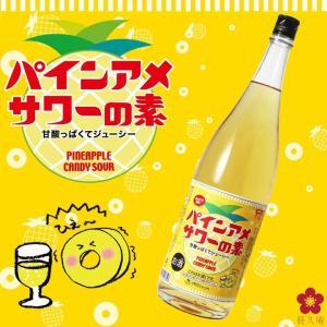 パインアメ パインアメサワーの素 1800ml ( ´◎`)スー 中野BC 飲み方 割り方 長久庵|chokyuan