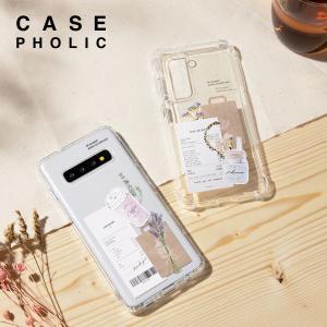 Galaxy s21 s20 a52 a51 A32 ケース スマホケース 韓国 スクラップ レシート メイソンジャー タンブラー カフェ ドライフラワー かわいい カバー 名入れ|chomolanma
