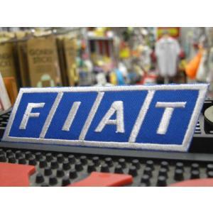 ワッペン FIAT No.18 レーシング ワッペン フィアット アメリカン雑貨 アメリカ雑貨