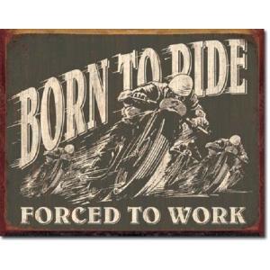 ブリキ看板 Born to Ride 1885 ティンサインプレート ティンサインボード アメリカ雑貨 アメリカン雑貨|choppers