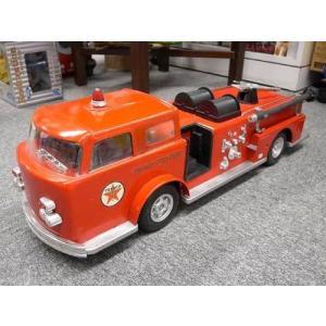TEXACO usedファイヤーブリキトラック  1960's 消防車 (hg-465)|choppers