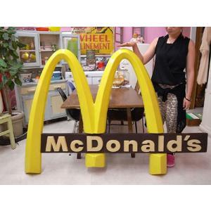 Vintage MacDonalds M型 アーチサイン / マクドナルド 看板|choppers