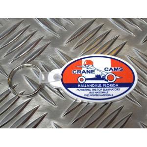 CRANE CAMS クレーン カムズ キーホルダー カムシャフト ラバーキーホルダー アメリカ雑貨 アメリカン雑貨|choppers