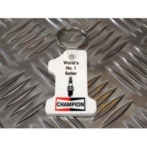 CHAMPION PLUG チャンピオン プラグ キーホルダー ラバーキーホルダー アメリカ雑貨 アメリカン雑貨|choppers