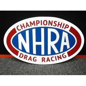 看板 NHRA MDF素材 National Hot Rod Association ホットロッド アメリカ雑貨 アメリカン雑貨 ガレージ雑貨|choppers