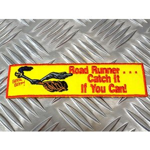 ロードランナー ワッペン Road Runner バンパー アメリカ雑貨 アメリカン雑貨 世田谷ベー...