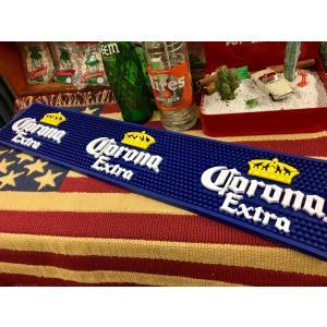 Corona Extra バーマット  コロナ ビール BARMAT ラバーマット アメリカ雑貨 アメリカン雑貨|choppers