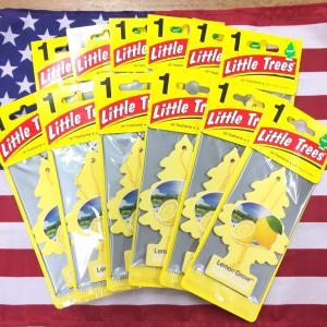リトルツリー レモン グローブ エアフレッシュナー 12枚セット Lemon Grove Little Trees 芳香剤 フレグランス choppers