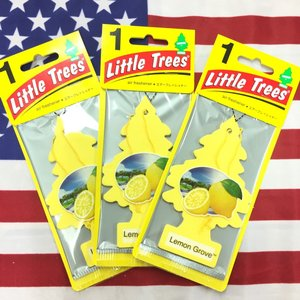 リトルツリー レモン グローブ エアフレッシュナー 3枚セット Lemon Grove Little Trees 芳香剤 フレグランス choppers