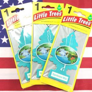 リトルツリー レインフォレスト ミスト エアフレッシュナー 3枚セット Rainforest Mist Little Trees 芳香剤 フレグランス choppers