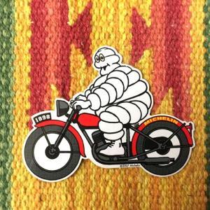ミシュラン ビバンダム ステッカー バイク ビブ MICHELIN Bibendum Bib