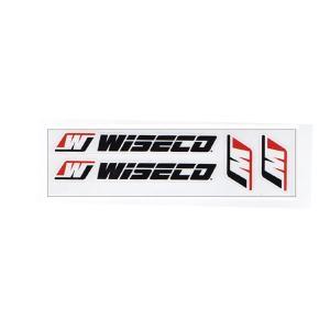 WISECOワイセコピストン4Pセット US レーシング ステッカー USD-4 choppers