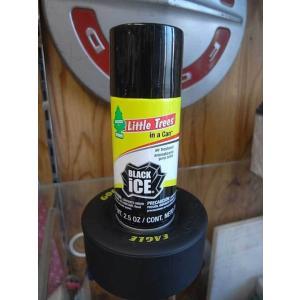 リトルツリー ツリーカン Black Ice 2.5oz ブラックアイス Little Tree 芳香剤 スプレー choppers