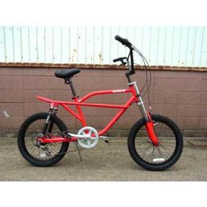 フリーキーバイク レッド NEW FREAKY BIKE RED 70's 自転車 モトバイク choppers