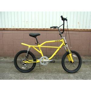 フリーキーバイク イエロー NEW FREAKY BIKE YELLOW 70's 自転車 モトバイク choppers