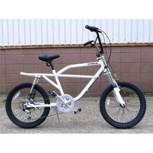 フリーキーバイク ホワイト NEW FREAKY BIKE WHITE 70's 自転車 モトバイク choppers