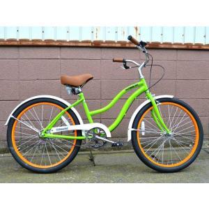 ビーチクルーザー サンタクルーズ グリーン 自転車 BEACH CRUISER SANTA CRUZ GREEN choppers