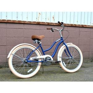 ビーチクルーザー サンタクルーズ ネイビー 自転車 BEACH CRUISER SANTA CRUZ NAVY choppers