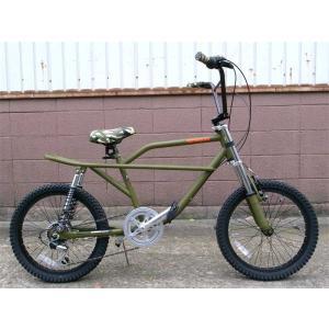 フリーキーバイク マット オリーブ NEW FREAKY BIKE MAT OLIVE 70's 自転車 モトバイク choppers