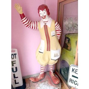マクドナルド ドナルド本物 アメリカ直輸入 店舗ディスプレイ スタチュー McDonald's Ronald Donald Statue choppers