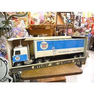 Nylint社製 Pillsbury's GMC タンカー トラック トレーラー 箱付き ミニカー 世田谷ベース P-25|choppers
