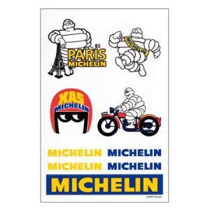ミシュラン ビバンダム ステッカー セット Michelin アメリカン雑貨 世田谷ベース