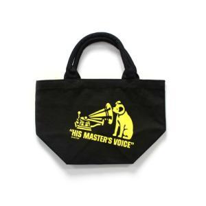 ビクター ニッパー ミニトートバッグ ブラック VICTOR NIPPER ビクター犬 正規ライセンス商品|choppers