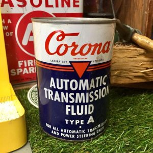オイル缶 CORONA OIL ヴィンテージ US 1QUART Q-2-3|choppers