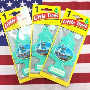 リトルツリー ベイサイドブリーズ 3枚セット Little Trees Bayside Breeze エアフレッシュナー choppers