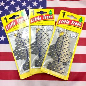 リトルツリー ピュアスティール 3枚セット Little Trees PURE STEEL エアフレ...